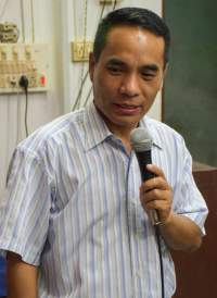 Pastor L.M. Andrew, director of IGO's Mizoram Bible College, believes that fulfilling the Great Commission is the special calling of his people. Like other Mizos, Pastor Andrew's ancestors were headhunters.
