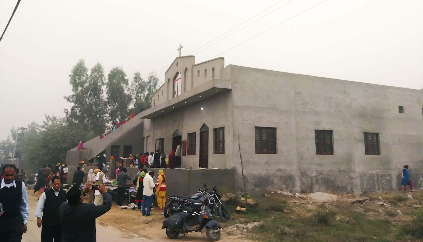 The new, enlarged church building reflects the dramatic growth that took place in less than two years in spite of Pastor Charanjit's brutal persecution.